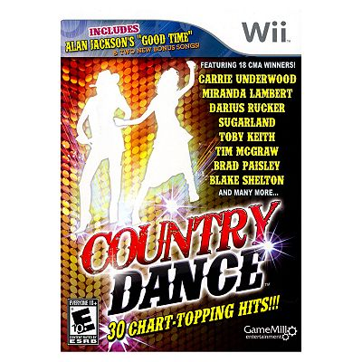 Country Dance: 30 Chart-Topping Hits For Nintendo Wii