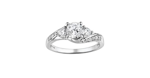 Diamond Rings For Sale Kohls: DiamonLuxe Sterling Silver 1.65-ct. T.W. Simulated Diamond