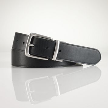 Chaps Leather Reversible Belt