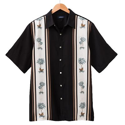 Croft and Barrow Island Collection Tropical Casual Button-Down Shirt - Big & Tall