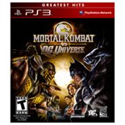 Mortal Kombat vs DC Universe for PlayStation 3