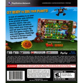 Plants vs. Zombies for PlayStation 3