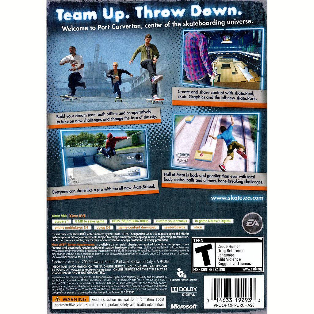 Skate 3 for Xbox 360