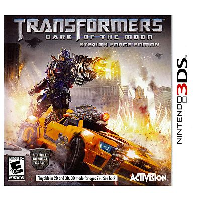 Transformers: Dark of the Moon Stealth Force Edition for Nintendo 3DS