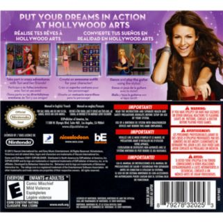 Nickelodeon Victorious: Hollywood Arts Debut for Nintendo DS