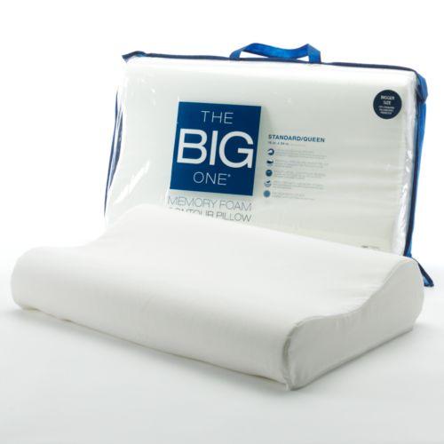 The Big One® Memory Foam Contour Pillow - Standard/Queen