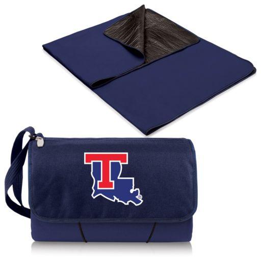 Picnic Time Louisiana Tech Bulldogs Blanket Tote