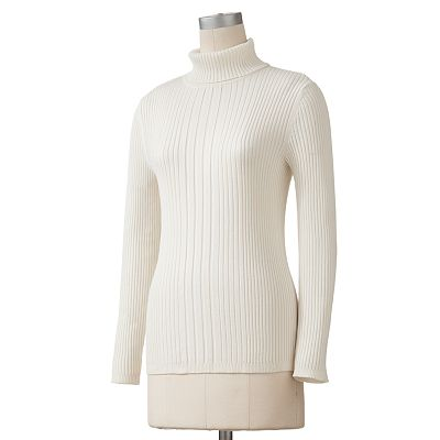 212 Collection Solid Turtleneck Sweater