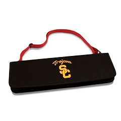 Picnic Time USC Trojans Metro 4 pc Barbecue Tote Set