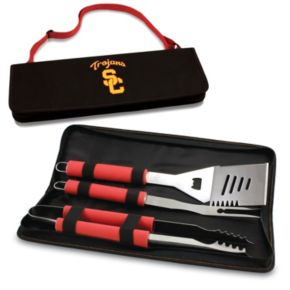 Picnic Time USC Trojans Metro 4-pc. Barbecue Tote Set