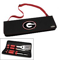 Picnic Time Georgia Bulldogs Metro 4-pc. Barbecue Tote Set