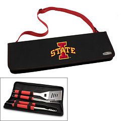 Picnic Time Iowa State Cyclones Metro 4 pc Barbecue Tote Set