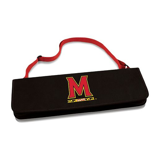 Picnic Time Maryland Terrapins Metro BBQ Tote Set