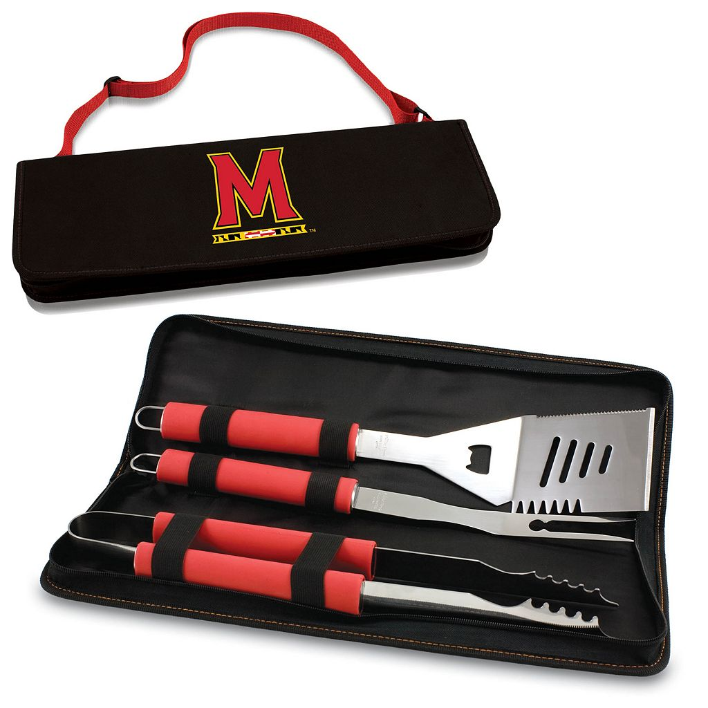 Picnic Time Maryland Terrapins Metro 4-pc. Barbecue Tote Set