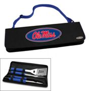 Picnic Time Ole Miss Rebels Metro 4 pc Barbecue Tote Set