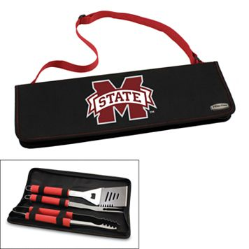 Picnic Time Mississippi State Bulldogs Metro 4-pc. Barbecue Tote Set