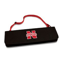 Picnic Time Nebraska Cornhuskers Metro 4-pc. Barbecue Tote Set