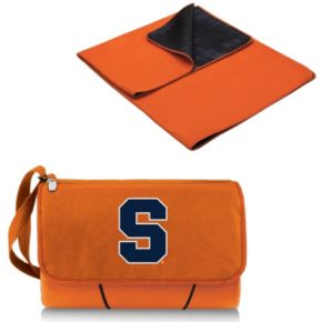 Picnic Time Syracuse Orange Blanket Tote