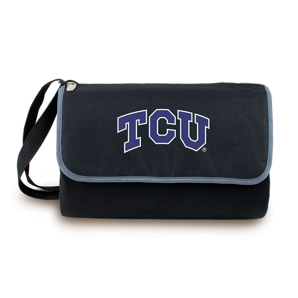 Picnic Time TCU Horned Frogs Blanket Tote