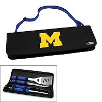 Picnic Time Michigan Wolverines Metro 4-pc. Barbecue Tote Set
