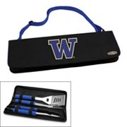 Picnic Time Washington Huskies Metro 4-pc. Barbecue Tote Set