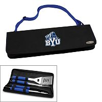 Picnic Time BYU Cougars Metro 4-pc. Barbecue Tote Set