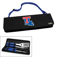 Picnic Time Louisiana Tech Bulldogs Metro 4 pc Barbecue Tote Set