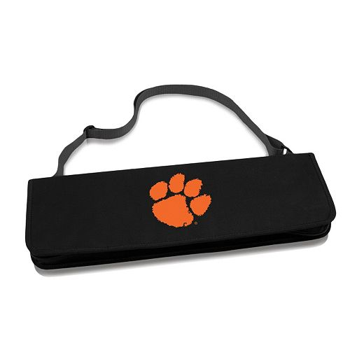 Picnic Time Clemson Tigers Metro 4-pc. Barbecue Tote Set