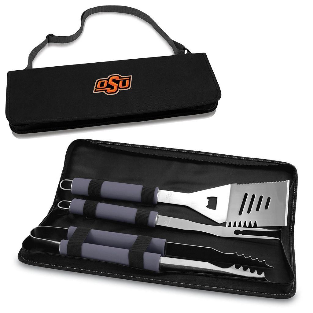 Picnic Time Oklahoma State Cowboys Metro 4-pc. Barbecue Tote Set