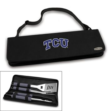 Picnic Time TCU Horned Frogs Metro 4-pc. Barbecue Tote Set