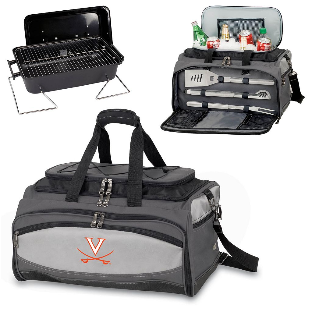 Picnic Time Buccaneer Virginia Cavaliers Tailgating Cooler and Grill