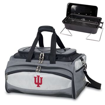 Picnic Time Buccaneer Indiana Hoosiers Tailgating Cooler & Grill