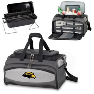 Picnic Time Buccaneer Southern Miss Golden Eagles Tailgating Cooler and Grill