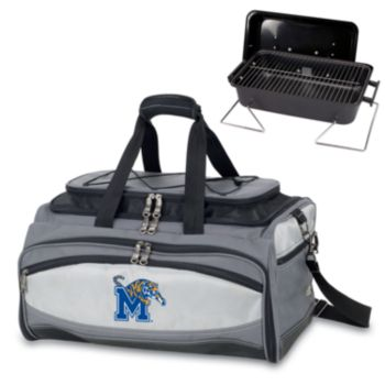 Picnic Time Buccaneer Memphis Tigers Tailgating Cooler and Grill