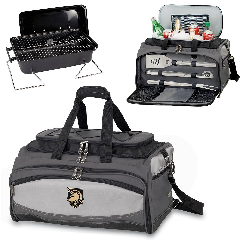 Picnic Time Buccaneer Army Black Knights Tailgating Cooler and Grill