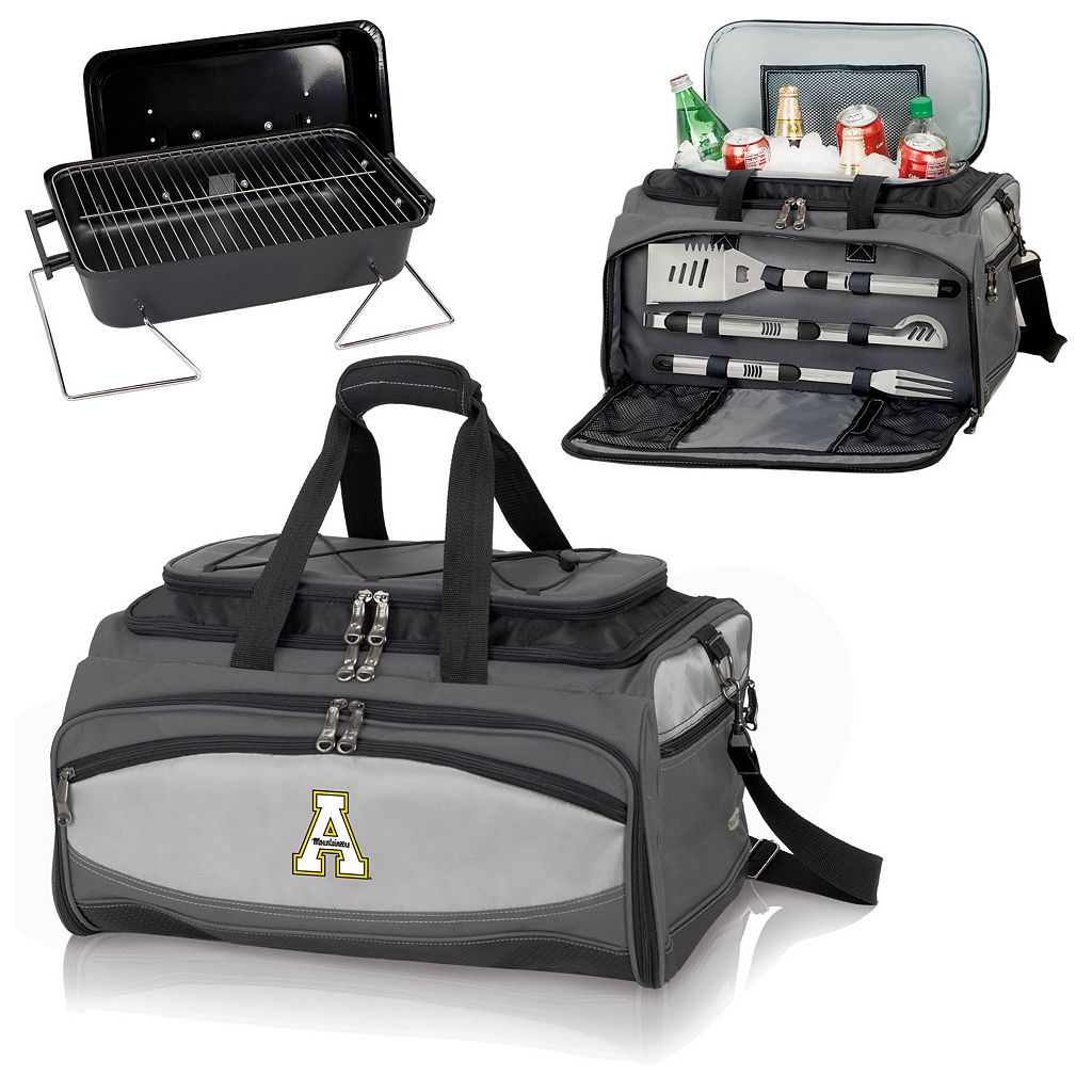 Picnic Time Buccaneer Appalachian State Mountaineers Tailgating Cooler and Grill