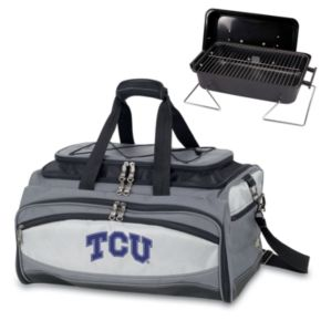 Picnic Time Buccaneer TCU Horned Frogs Tailgating Cooler and Grill