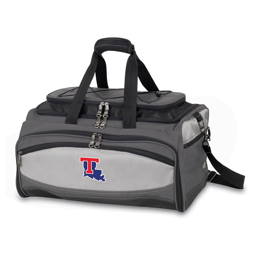 Picnic Time Buccaneer Louisiana Tech Bulldogs Tailgating Cooler & Grill