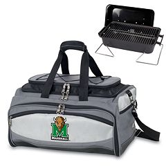 Picnic Time Buccaneer Marshall Thundering Herd Tailgating Cooler & Grill