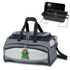 Picnic Time Buccaneer Marshall Thundering Herd Tailgating Cooler and Grill
