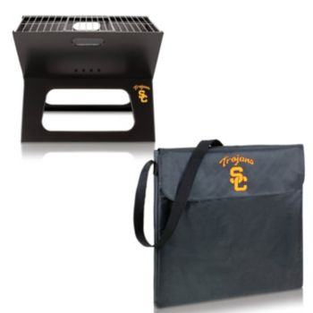 Picnic Time USC Trojans Portable X-Grill