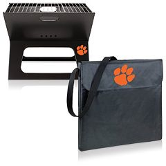 Picnic Time Clemson Tigers Portable X-Grill