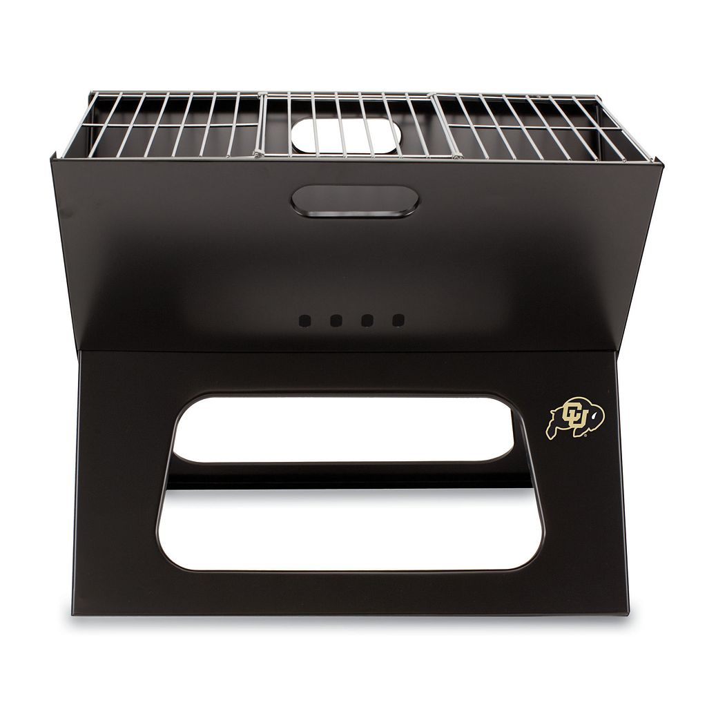 Picnic Time Colorado Buffaloes Portable X-Grill