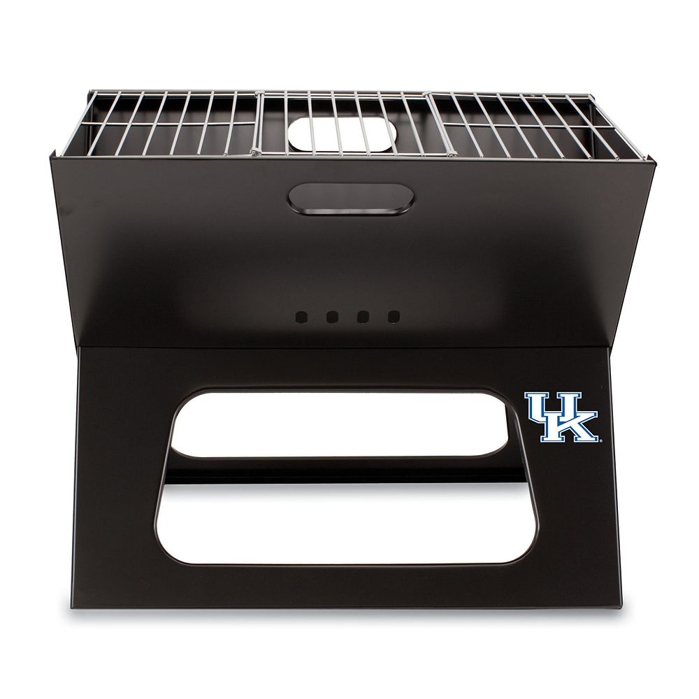 Picnic Time Kentucky Wildcats Portable X-Grill