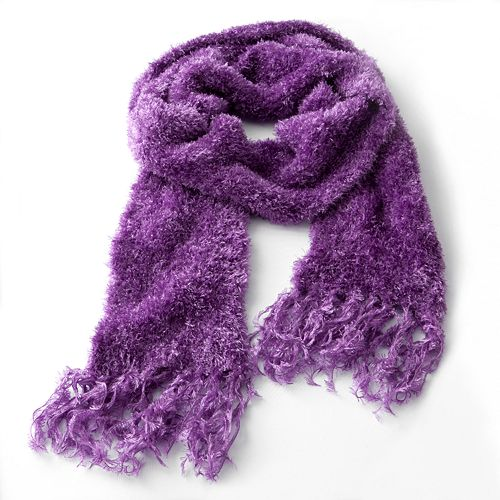 Jumping Beans Solid Eyelash Scarf - Girls $ 8.40