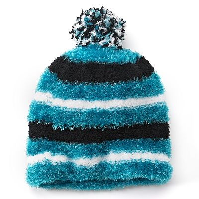 Jumping Beans Striped Eyelash Hat - Girls