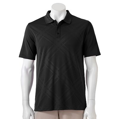 FILA SPORT GOLF Dotted Plaid Performance Polo