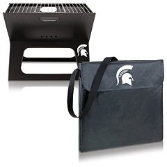 Picnic Time Michigan State Spartans Portable X-Grill