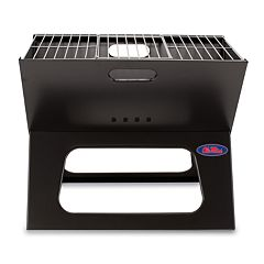 Picnic Time Ole Miss Rebels Portable X-Grill