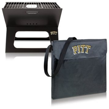 Picnic Time Pitt Panthers Portable X-Grill